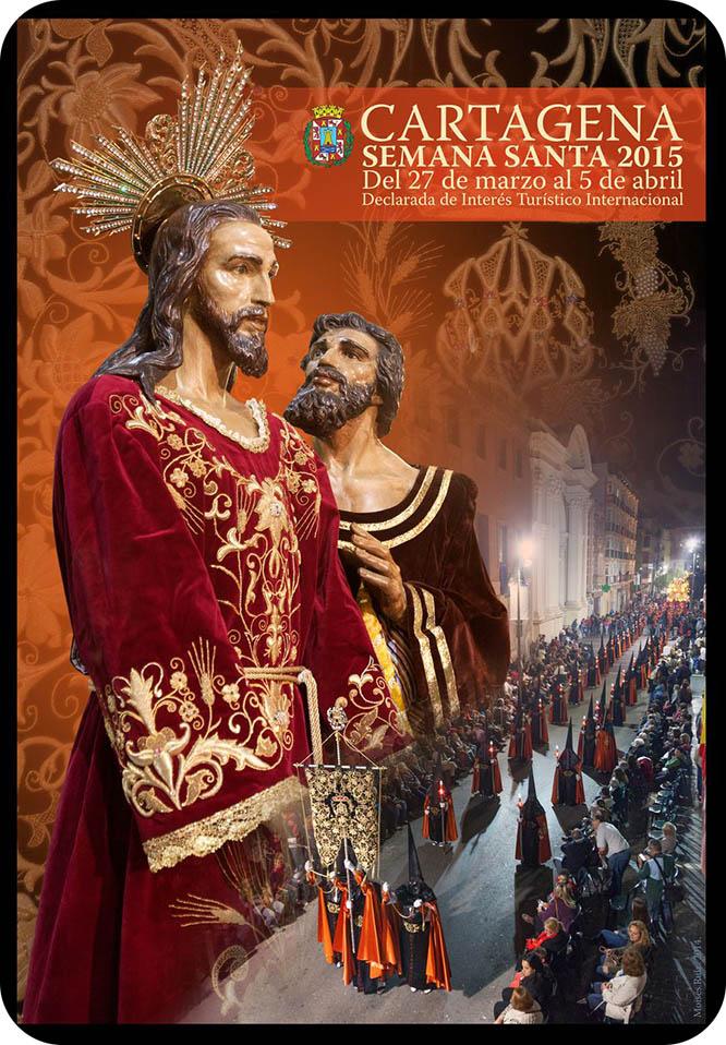 Un cartel de Moisés Ruiz representará la Semana Santa cartagenera