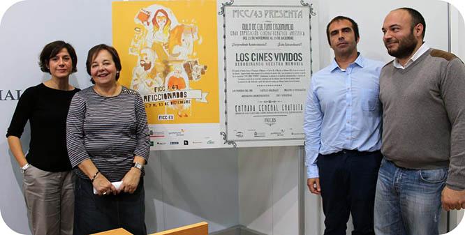 Una exposición de Alfonso Santos servirá de aperitivo al FICC43